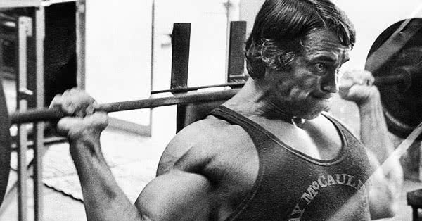 Arnold was famous for doing high-volume workouts.