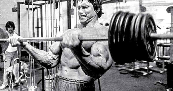 Full body routine, as Arnold did it