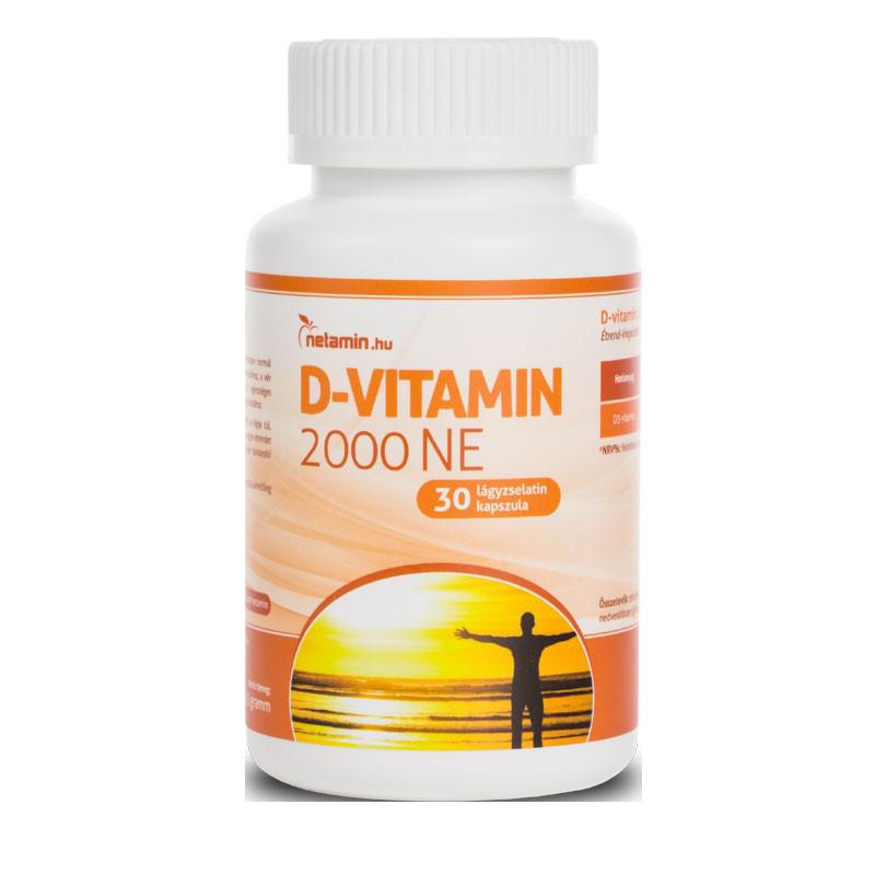 Netamin D-vitamin 2000 IU 30 caps