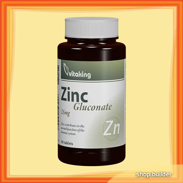 VitaKing Zinc (Gluconate) 90 tab.