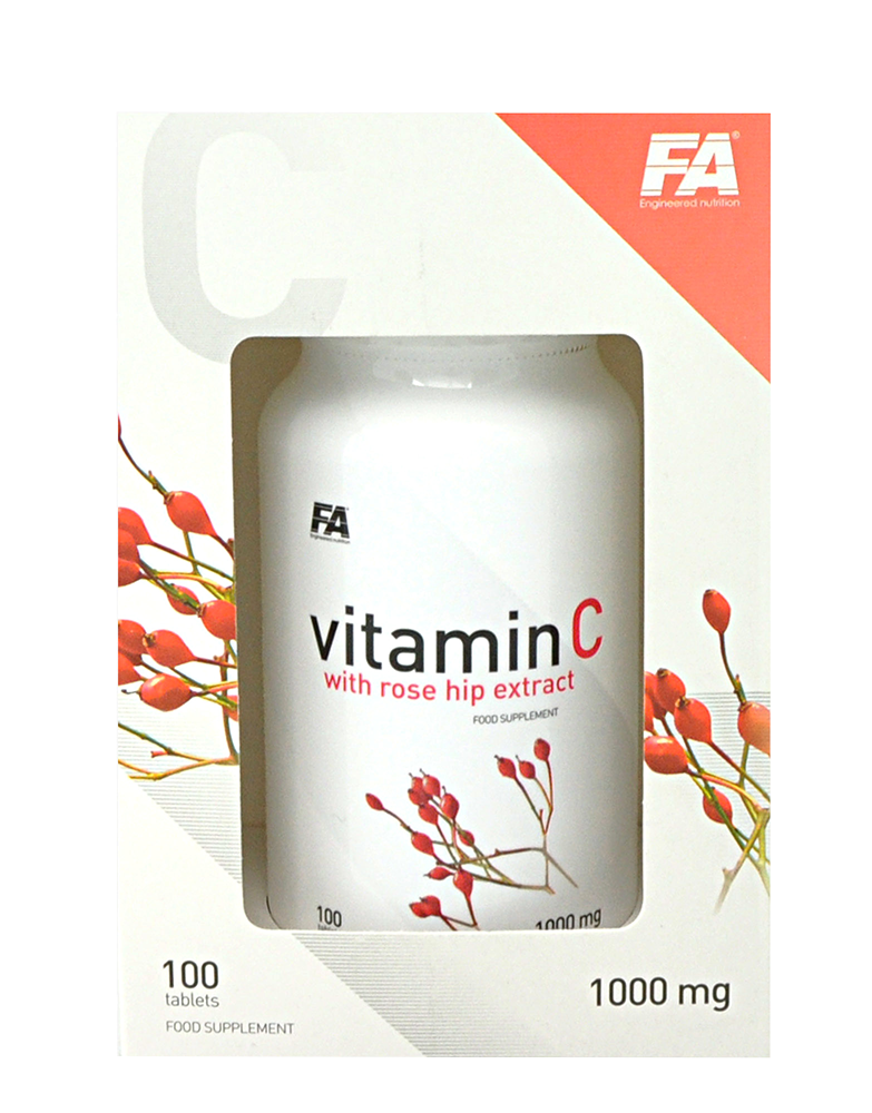 Fitness Authority Vitamin C with Rose Hips 100 caps