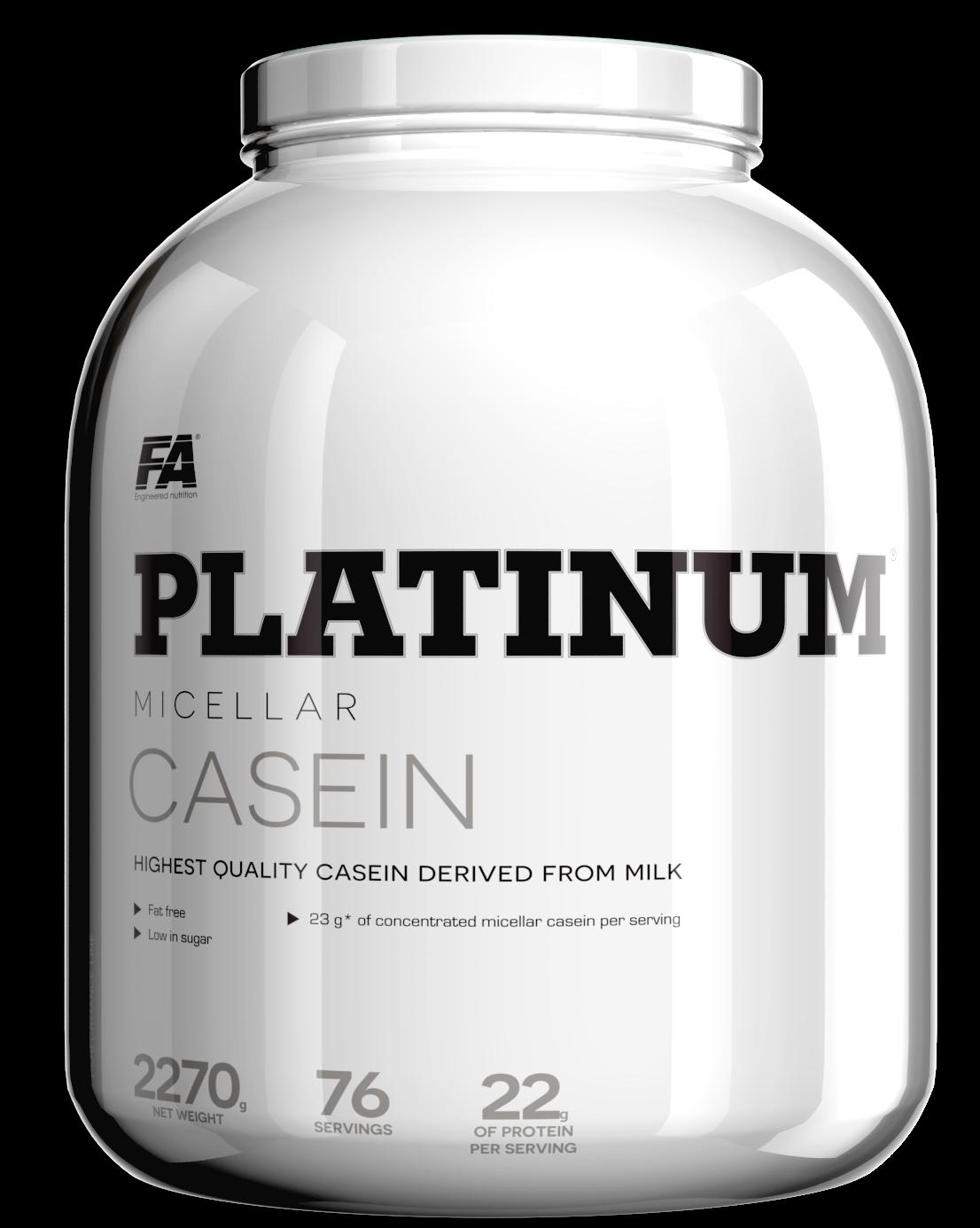 Fitness Authority Platinum Micellar Casein 1,6 kg