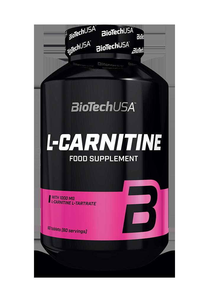 BioTech USA L-Carnitine 1000 60 tab.