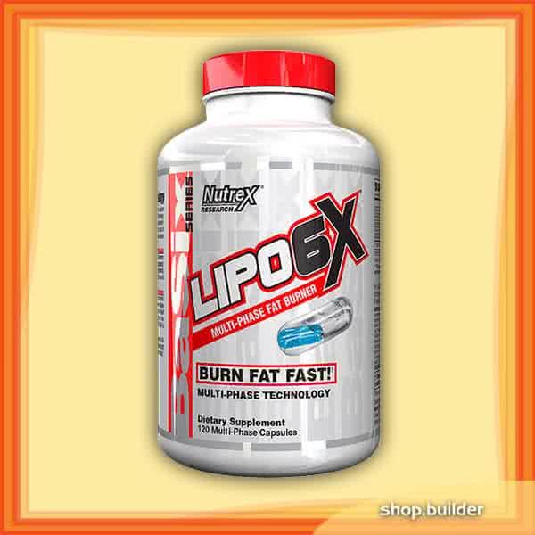 NutreX Research Lipo-6X 120 caps