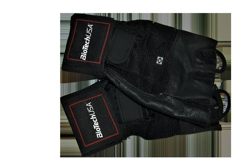 BioTech USA Training gloves w. wrist wraps Houston pair