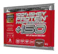 Scitec Nutrition 100% Whey Protein Professional +ISO (30 gr.)