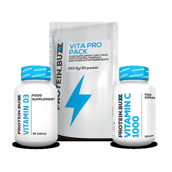 Protein Buzz Buzz Winter Vitamin Stack set