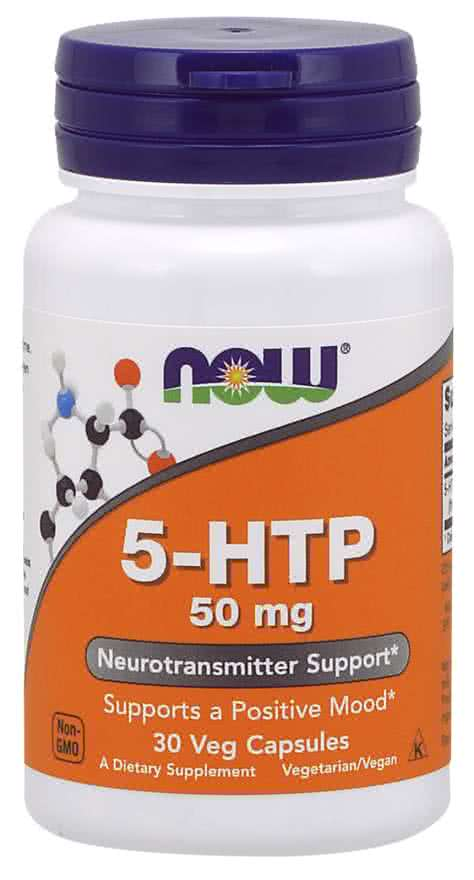 Now Foods 5-HTP 30 caps