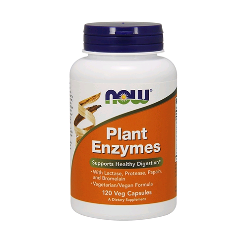 Now Foods Plant Enzymes 120 caps