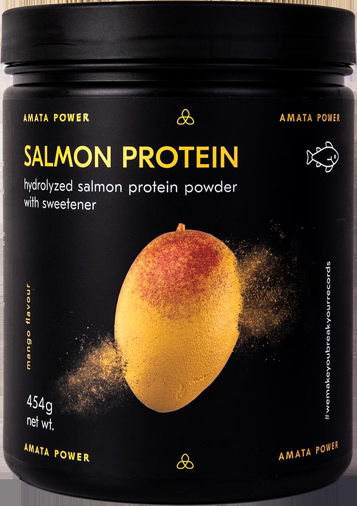 Amata Power Salmon Protein 0,454 kg