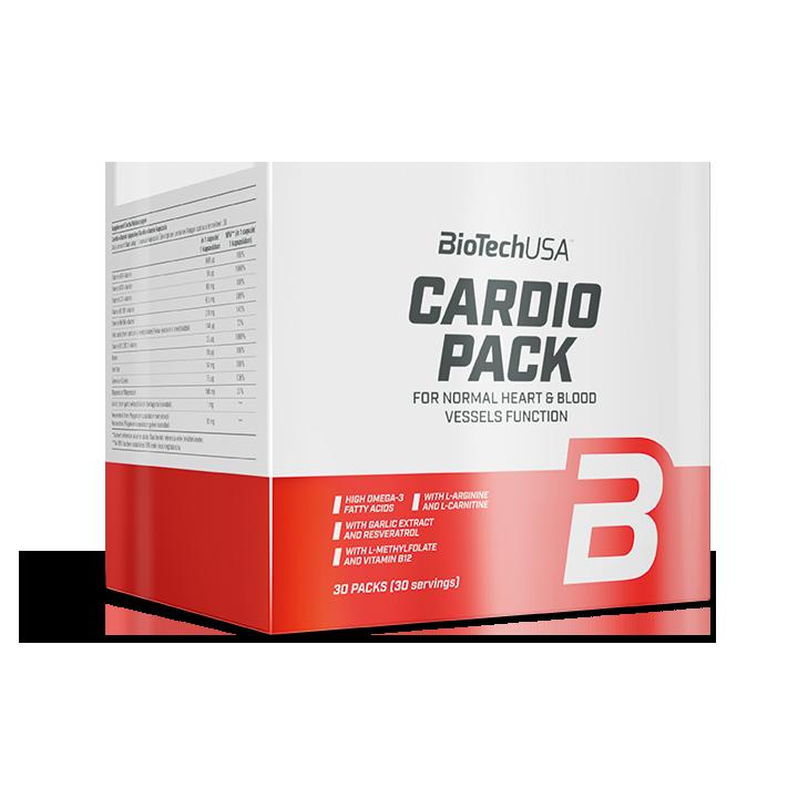 BioTech USA Cardio Pack 30 pak.