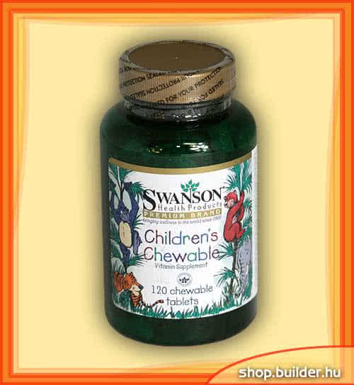 Swanson Childrens Chewable 120 chews