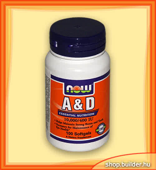 Now Foods Vitamin A & D 100 g.c.