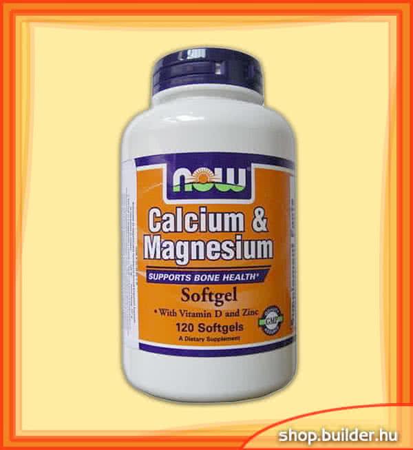 Now Foods Calcium & Magnesium 120 g.c.