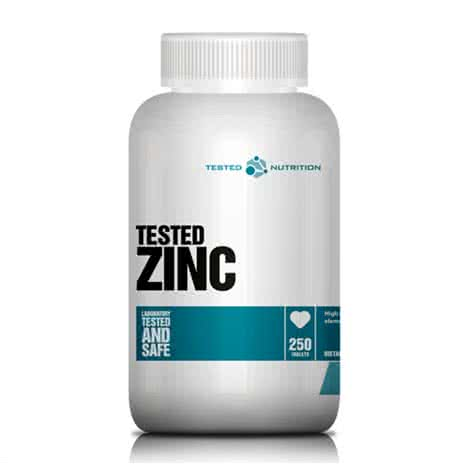 Tested Nutrition Tested Zinc 250 tab.